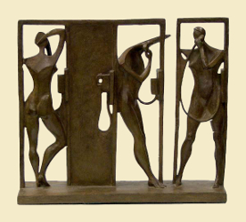"Telephone Booths II | 12"" x 13"" 