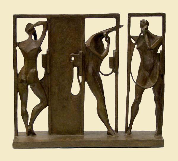 Ernest-Montenegro-Bronze-Telephone-Booths-II
